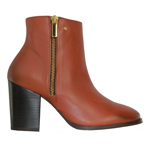 Amy Huberman Ankle Boots - Cold War - Tan
