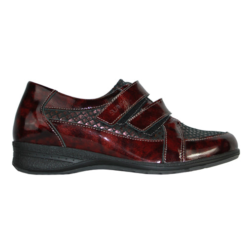 Suave Walking Shoe - Nicole - Burgundy