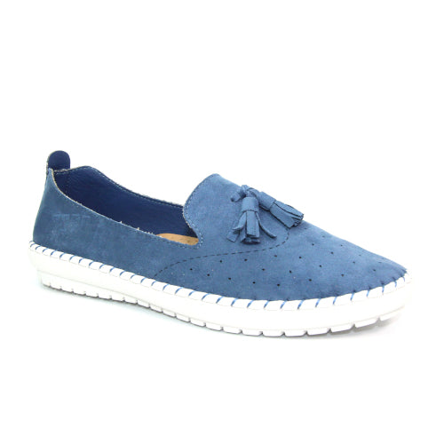 Lunar Flat Shoe - Crete - Light Blue