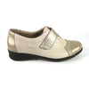 Suave Wide Fit Walking Shoe - Joan - Beige