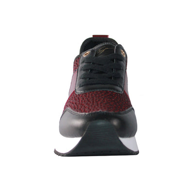 Tommy Bowe Ladies Trainers - Keohane - Burgundy