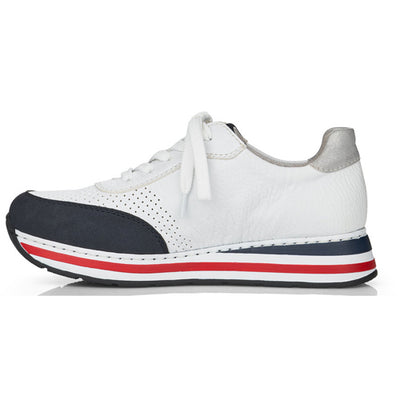 Rieker  Trainers - L2327-15 - White