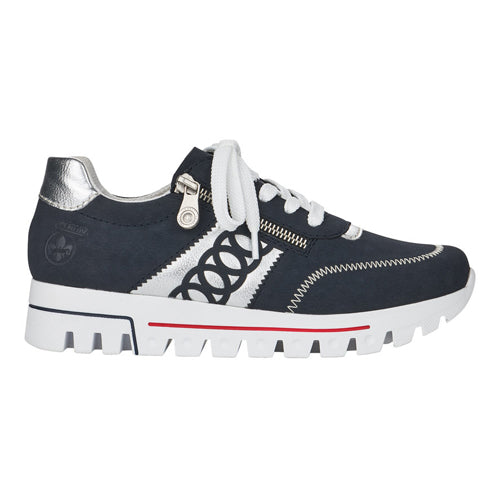 Rieker Trainers - L2808-14 - Navy