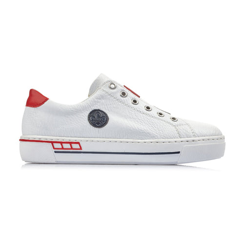 Rieker Trainers - L8870-81 - White