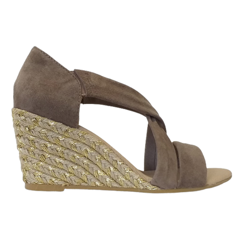 Kate Appleby Wedge Sandal - Millbank - Umber