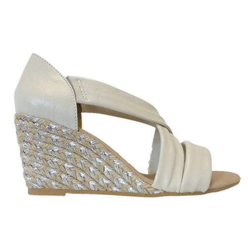 Kate Appleby Wedge Sandal - Millbank - Cream