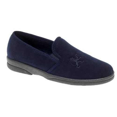 Sleepers Mans Slipper - 424 - Navy