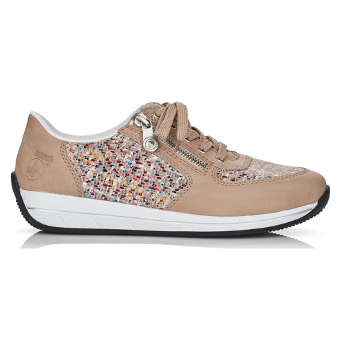 Rieker Ladies Trainer - N1112-62/80 - Nude