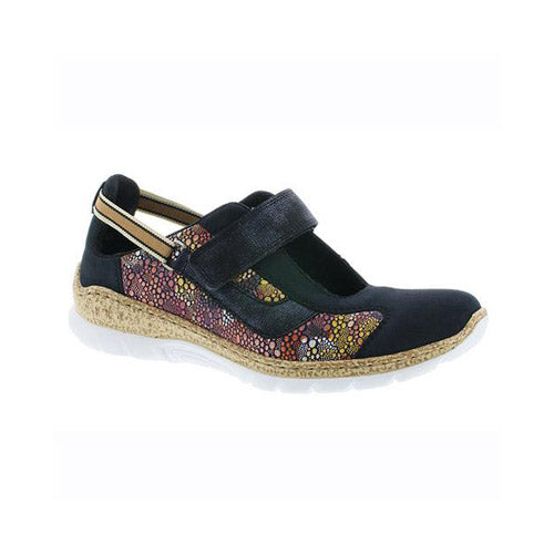 Rieker Flat Shoes - N42R814 - Navy