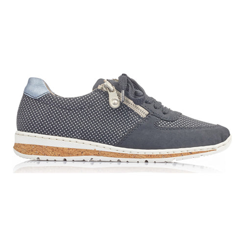 Rieker Trainers - N5121-14 - Navy