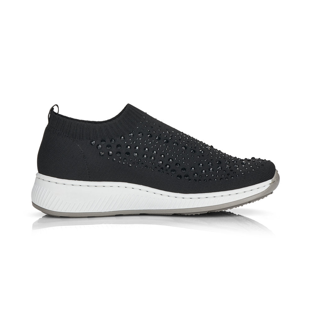 Rieker  Trainers - N5532-00 - Black