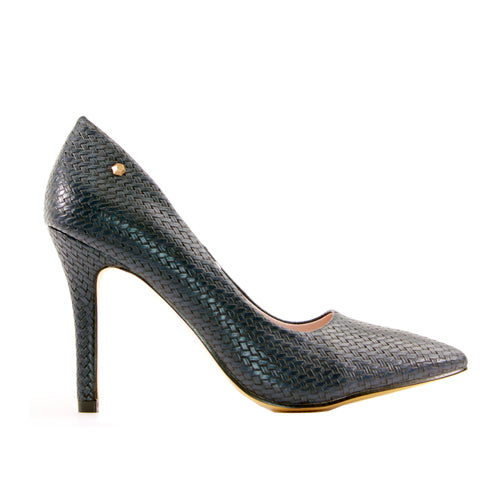 Kate Appleby High Heel - Ormsy - Navy Weave