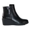 Redz Wedge Ankle Boots - R903 - Black