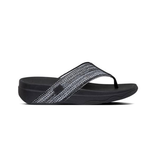 FitFlop Mules - Surfa - Black Toe Post