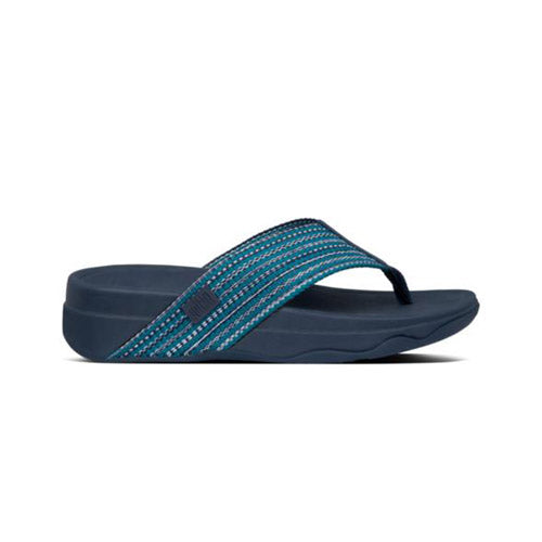 FitFlop Mules - Surfa - Navy Toe Post