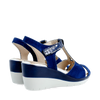Pitillos Wedge Sandals - 6032 - Navy