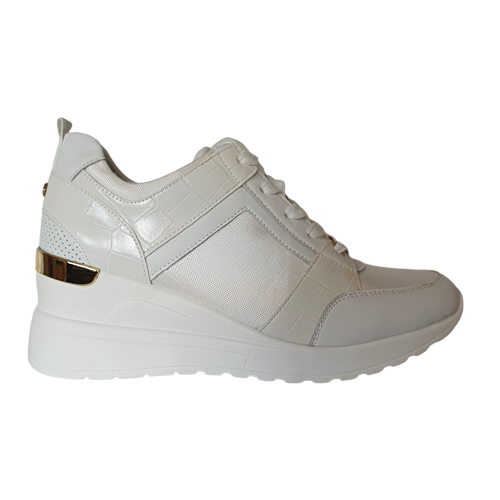 Tommy Bowe Ladies Trainers - Touhey - White