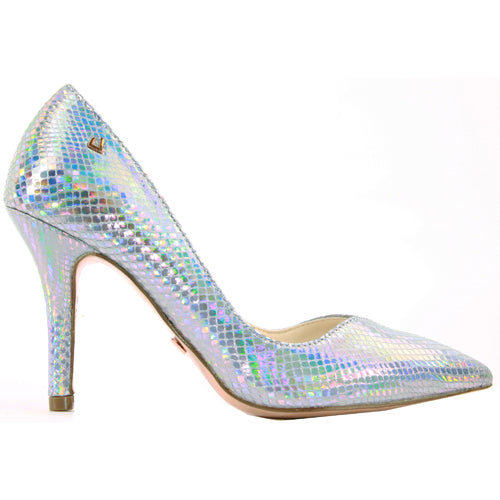 Una Healy Dressy Heels - Take it Easy - Silver