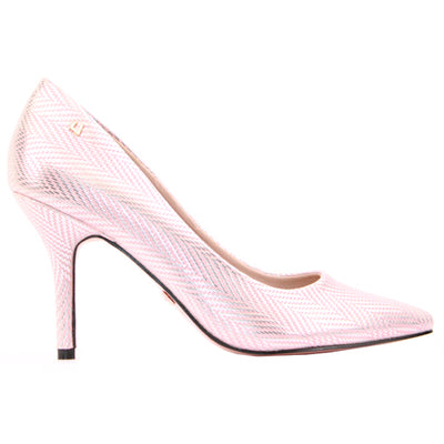 Una Healy Dressy Heels - Two Angels - Rose Gold