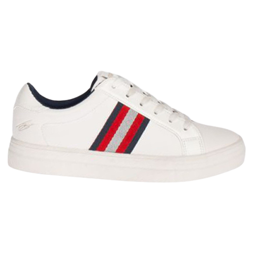 Tommy Bowe Ladies Trainers - Fitzhenry - White