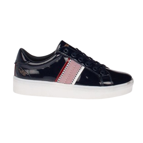 Tommy Bowe Ladies Trainers - McClean- Navy Patent