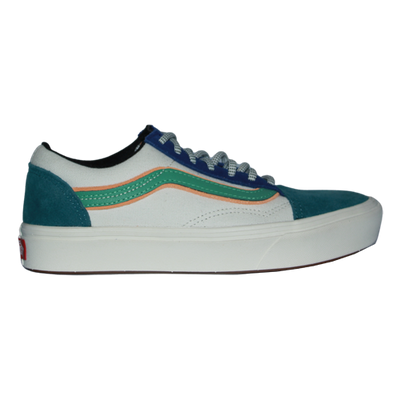 Vans Trainers - Comfy Cush Old Skool - White Colourblock