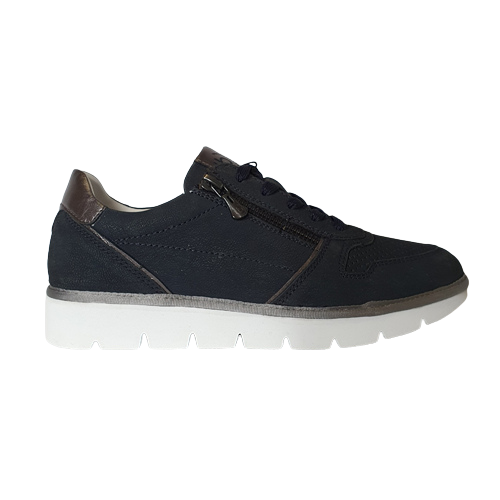 Bugatti Ladies Trainers - 431-A2Q)01 - Navy
