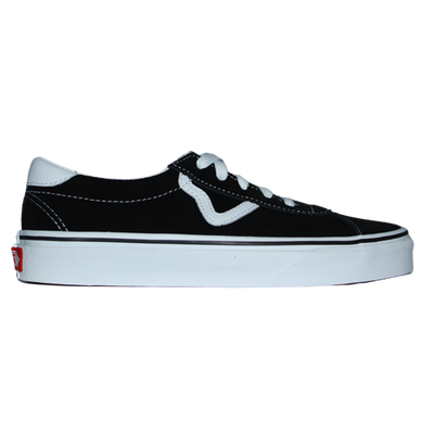 Vans Trainer - Sports Suede - Black/White
