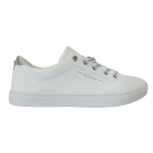 Tommy Bowe Ladies Trainers - Woodman - White