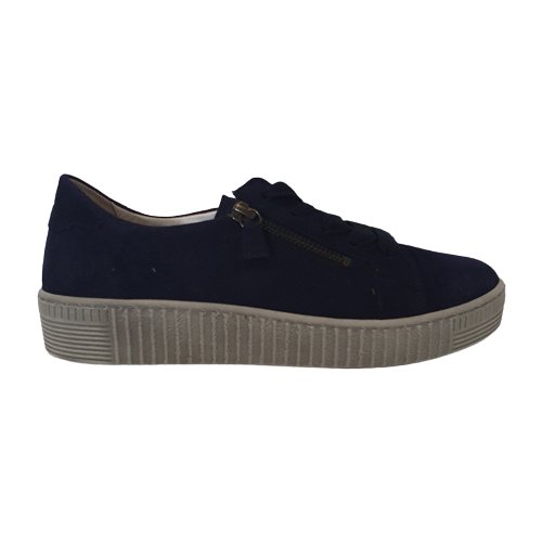 Gabor Wide Fit Trainers - 43.334 - Navy