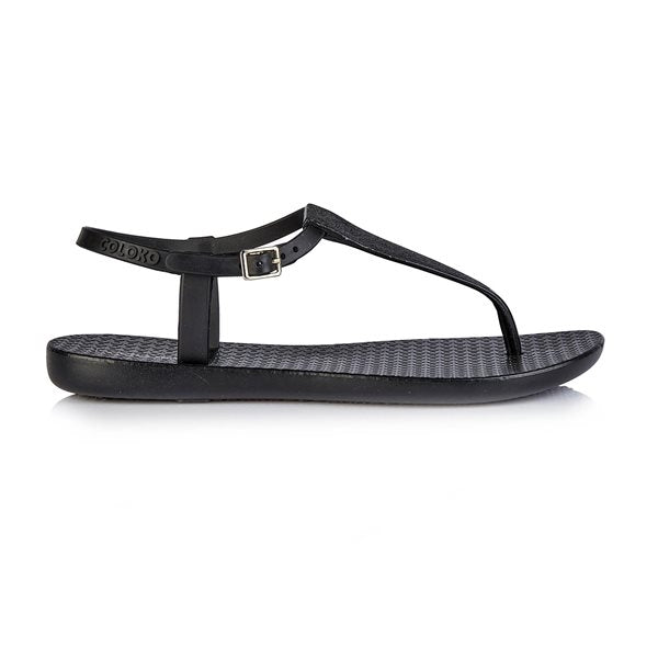 Coloko Flipflops  - Amaryllis - Black