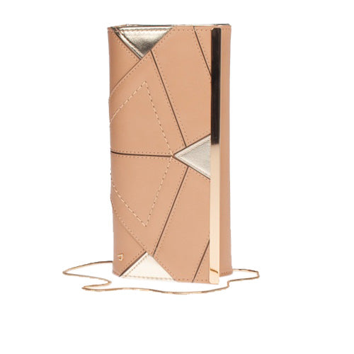 Una Healy Clutch Bag - The Gambler - Nude Biscuit Cream