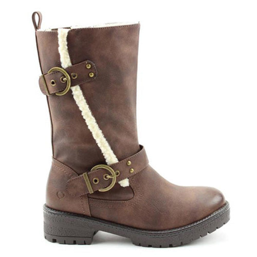 Heavenly Feet Mid Boots - Bonnie - Brown