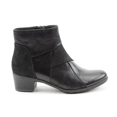 Heavenly Feet Ankle Boots - Imogen - Black