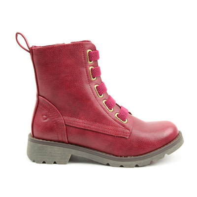 Heavenly Feet Ankle Boots - Ingrid - Burgundy
