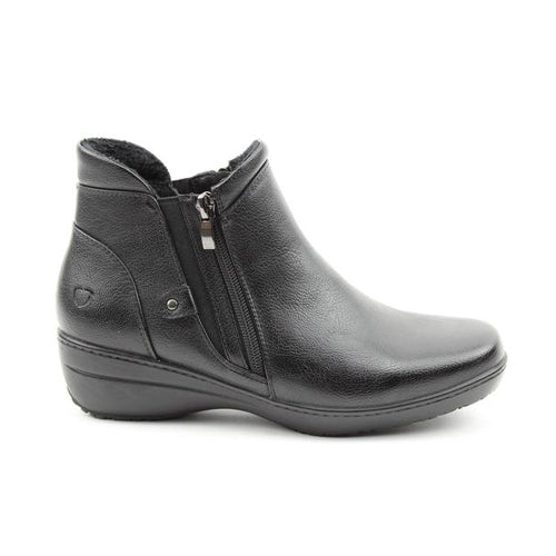 Heavenly Feet Ankle Boots - Venice - Black