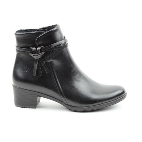 Heavenly Feet Ankle Boots - Annie - Black