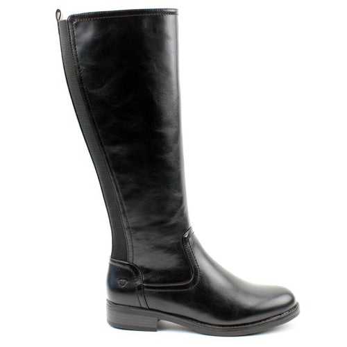 Heavenly Feet Knee Boots - Racquel - Black