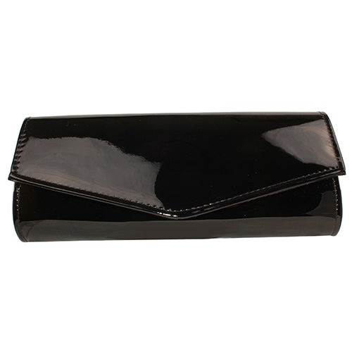 Dr Bear Clutch Bag - 90855 - Black Patent