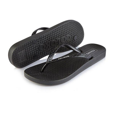 Coloko Flipflops - Camellia - Black