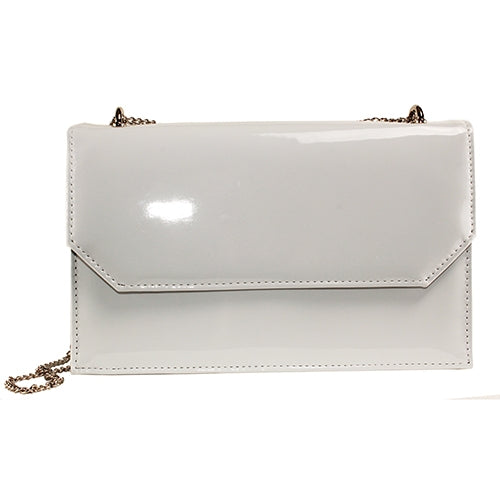 Glamour Clutch Bag - Camie - White