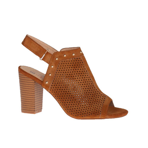Escape Block Heel Sandal - Cape May - Tan