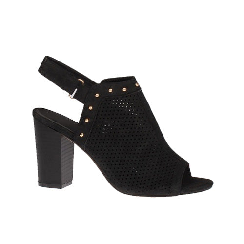 Escape Block Heel Sandal - Cape May - Black