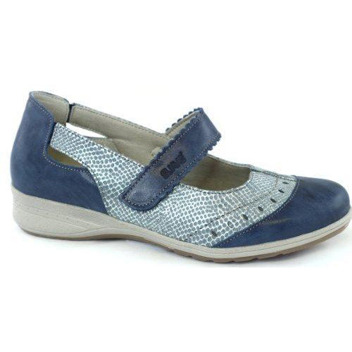 Suave Walking Shoe - Carol - Navy