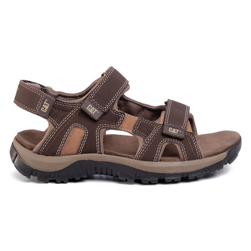 Caterpillar Sandal  - Giles - Brown