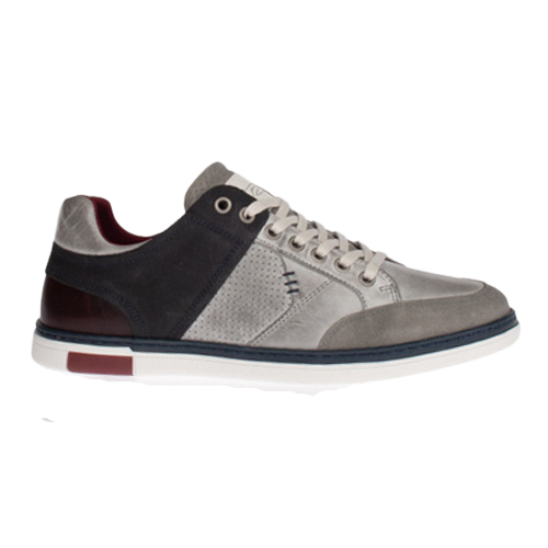 Tommy Bowe Mens Trainer - Connors - Light Grey