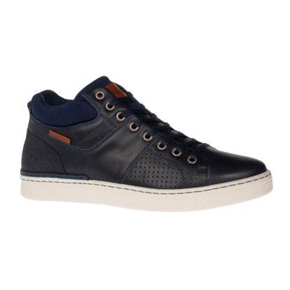 Tommy Bowe Mens Trainer - Cronin - Navy