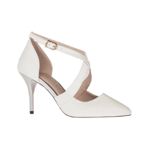 Kate Appleby Dressy Heels - Cushendun - White Snow