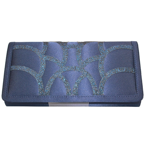 Lunar Clutch Bag - Dalia - Navy