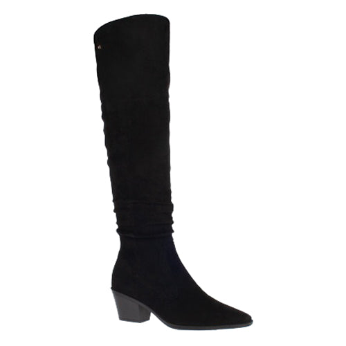 Una Healy Knee Boots  - Don't let me down - Black